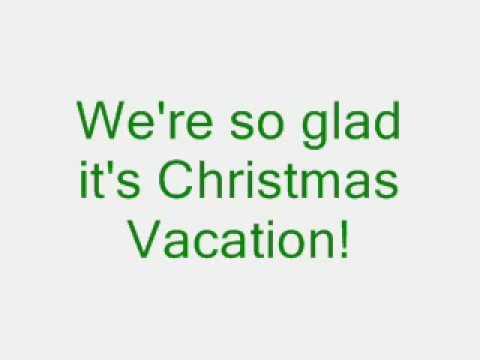 Christmas Vacation A  SingALong