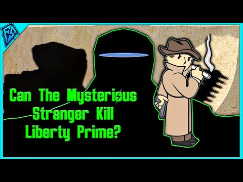 Fallout 4 | Can The Mysterious Stranger Kill Liberty Prime?