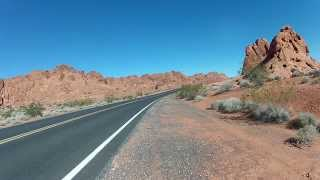 Las Vegas -- Driving in Valley of Fire State Park