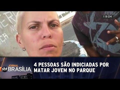 Polícia indicia quatro pessoas por matar jovem no Parque da Cidade | Jornal SBT Brasília 03/09/2018