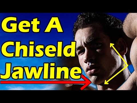 How to Get a Chiseled Jawline for Men & Teenagers | Lose Face Fat FAST (No Fat Reduction Exercises)