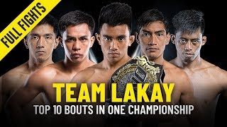 Top 10 Bouts | Team Lakay | ONE Full Fights