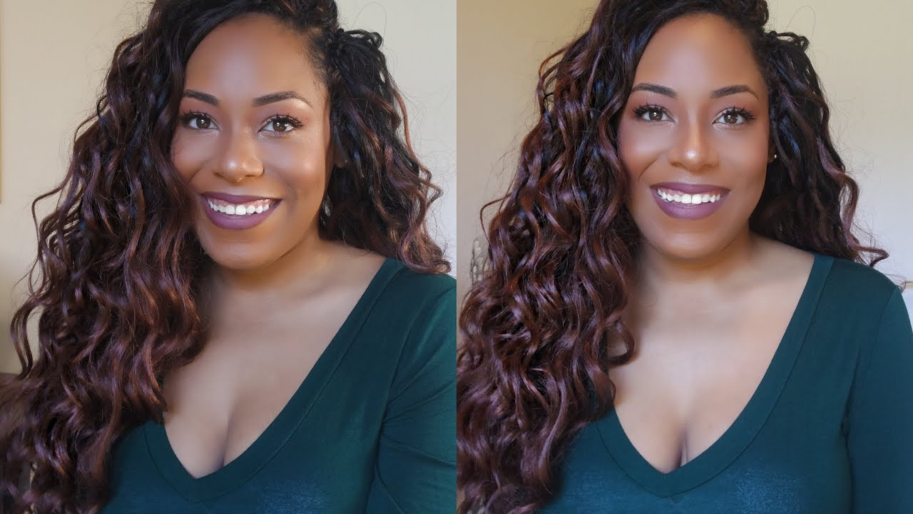 Janet Collection Perm Peruvian Ocean Wave Crochet Braid Review Lia