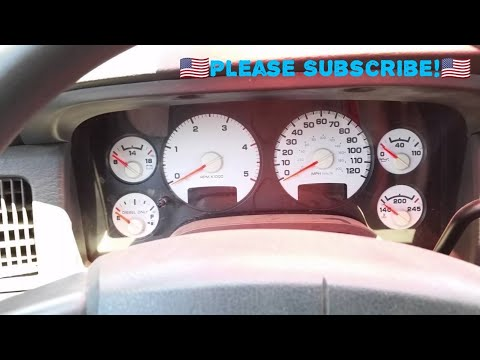 Dodge Ram Seat Belt Chime How To Turn On/Off Video - YouTube
