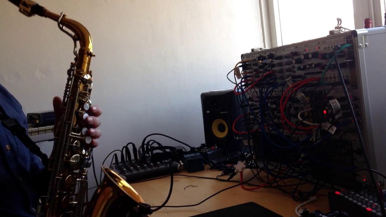 live modular synthesizer sax improvisation 2 youtube. Black Bedroom Furniture Sets. Home Design Ideas