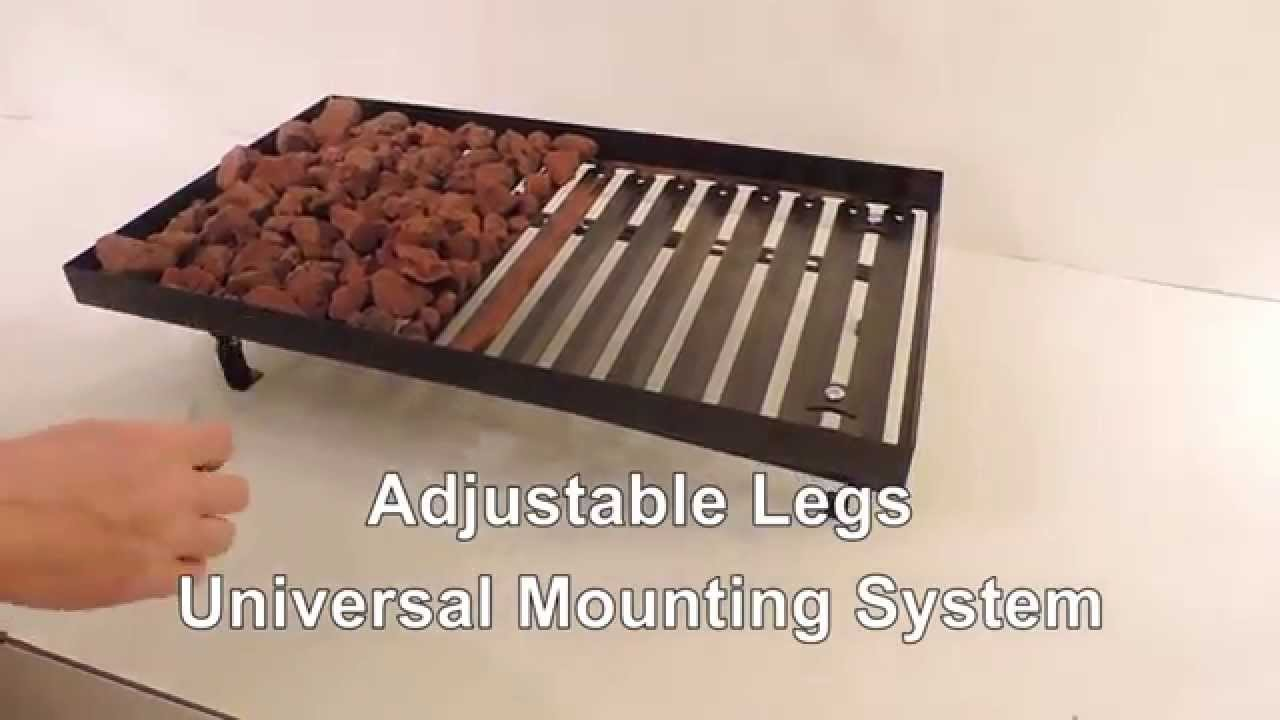 lava rock grill converter how it works - youtube