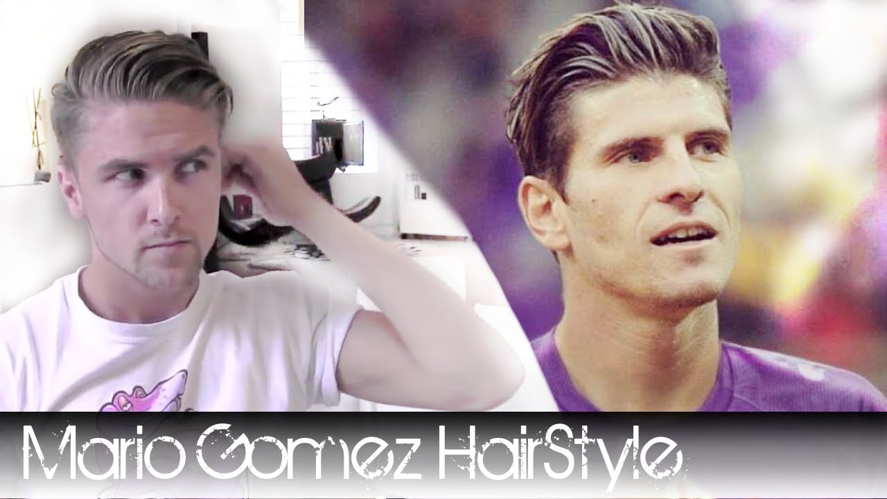how to style hair with dryer and brush mario gomez footballer hair how to style it with hair 7009