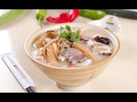 China mutton soup noodles  Henan-hui-mian
