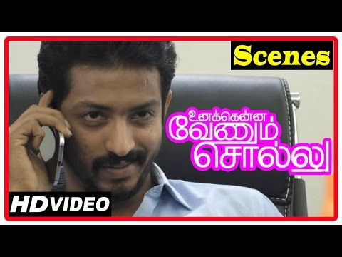 Unakkenna Venum Sollu Tamil Movie | Scenes | Jaqlene Prakash And Her Husband Meets Doctor