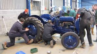 How to build a tractor - in seven minutes!!