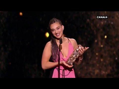 Camélia Jordana reçoit le César du meilleur espoir féminin ! - César 2018)