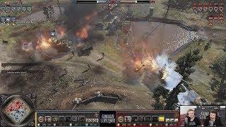 Torano(Wehrmacht) vs Talisman(Soviets) [Company of Heroes 2 Gameplay]