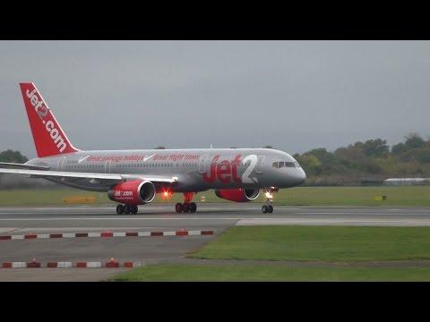 Rolls Royce Engine Roar Jet 2 757 Take-off