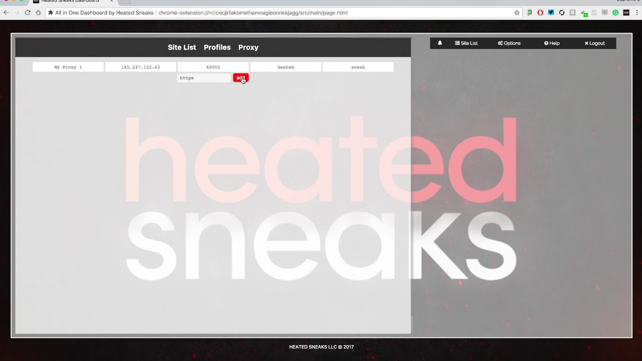 917d7cbd2c659 All in One DashBot Proxy Tutorial. Heated Sneaks