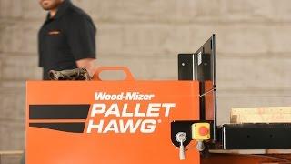 Preview the Wood-Mizer Pallet Hawg PD200 Pallet Dismantler