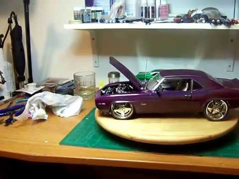 Scale Model Car 112 69 Chevy Camaro Z28 YouTube