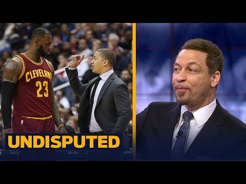 Chris Broussard reacts to LeBron's Cavs losing to Portland, heated exchange with Ty Lue | UNDISPUTED