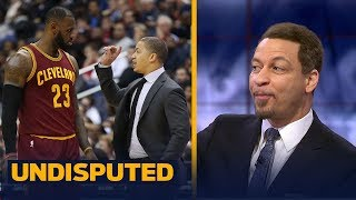 Chris Broussard reacts to LeBron