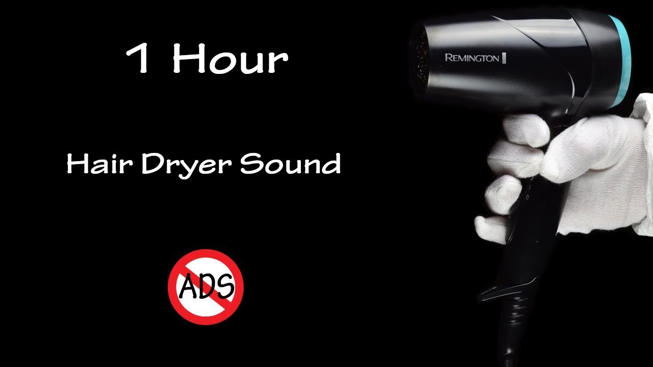 Relaxing Hair Dryer Sound 140 | Visual ASMR | 1 Hour Lullaby to Fall Asleep