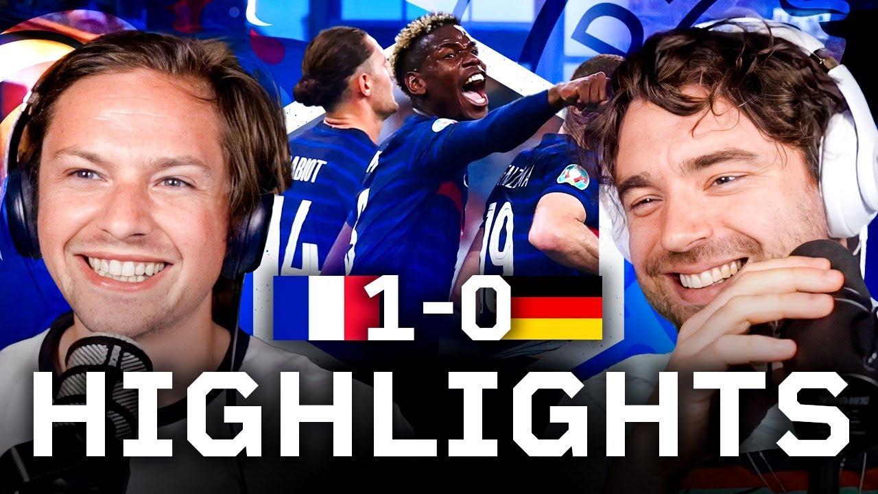 Pogba RUNS The Show   France 1-0 Germany Highlights