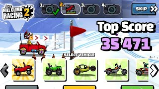 Hill Climb Racing 2 - 35471 points in CATASTROPHIC FAILURE Team Event