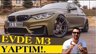 M3' ten de GENİŞ! DÖNÜŞÜM: 318 - ORİJİNAL M3 F80 | Maliyeti? Değişenler?