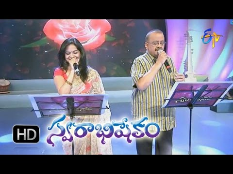 Kaastha Ninnu Song - SP.Balasubrahmanyam & Sunitha Performance in ETV Swarabhishekam - 15th Nov 2015