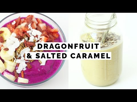 2 Healthy + Vegan Summer Breakfast Smoothie Recipes | Asia Jackson