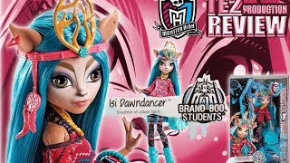 Review Monster High Brand-Boo Students Isi Dawndancer thumbnail