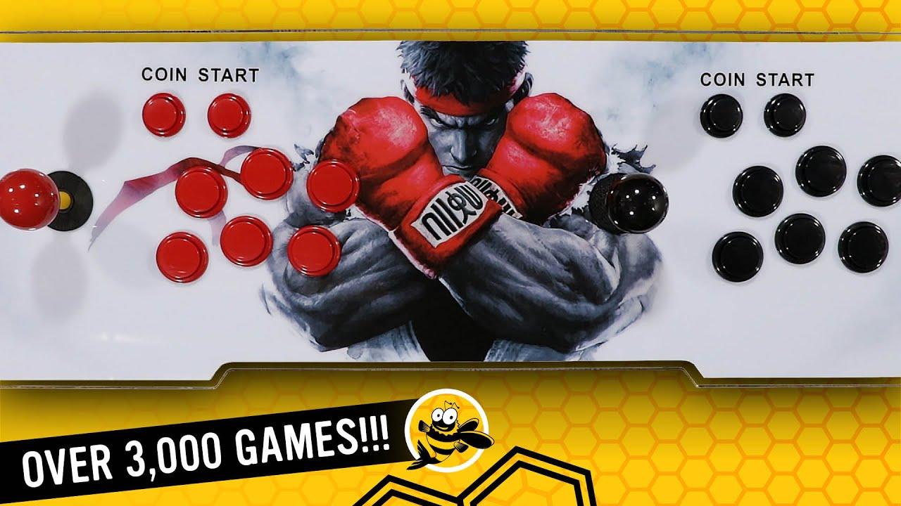 Pandora Box 11 Retro Arcade Console in 2020 – Over 3,000 Preloaded Games!