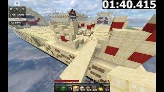 [ World Record ] Minecraft - Golden Drought Map Speedrun (1:51.934)