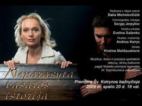 Dalia Michelevičiūtė & Sergej Jerpyliov. Master Class 2011