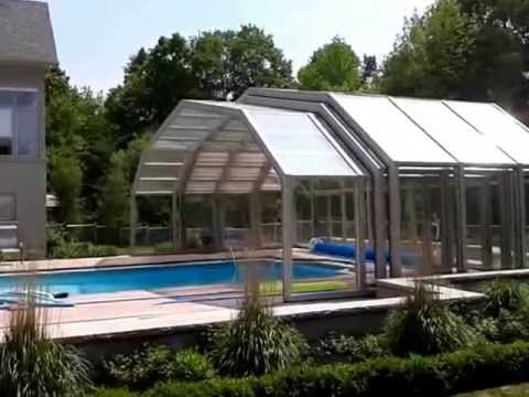Pool Enclosures from 3D computer model to installation - Covers in Play
