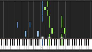 Synthesia - Kingdom Hearts II: Passion (Kyle Landry) - Slow