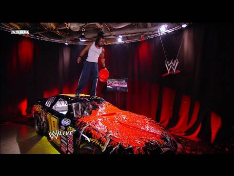 Download Kofi Kingston defaces Randy Ortons gift.