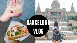 Barcelona Vlog // SO MUCH VEGAN FOOD