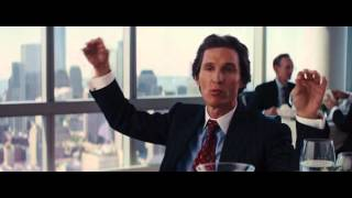 Le loup de Wall Street Scene culte DiCaprio / McConaughey