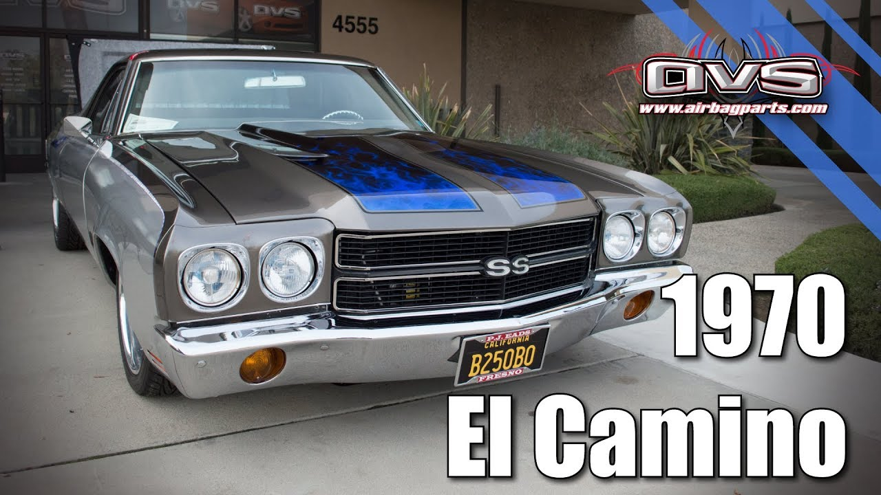 1970 El Camino Led Tail Lights Avs Bagged 1970 El Camino Custom Air Suspension