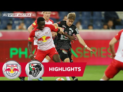 tipico Bundesliga, 27. Runde: FC Red Bull Salzburg - Wolfsberger AC 3:1