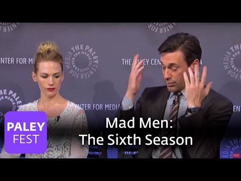 Mad Men  Jon Hamm, Matthew Weiner, January Jones, Vincent Kartheiser on the Sixth Season