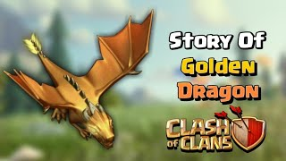 Story Of Giant/Mega Golden Dragon || in Hindi || Clash of clans ||