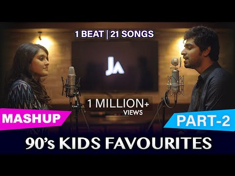 90's Kids Favourites Mashup | Part-2 | Joshua Aaron (ft. Svara)