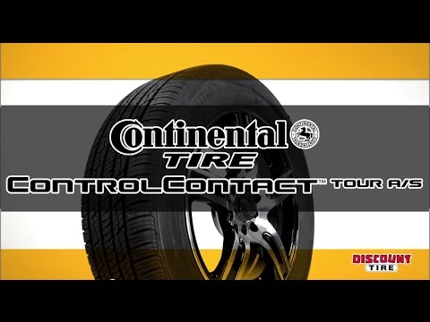 continental controlcontact tour a s tires takes you further discount tire