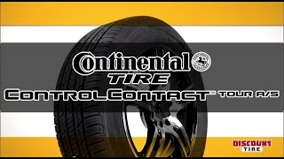 Continental ControlContact Tour A/S - A tire that takes you further! - Discount Tire