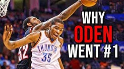 Why Greg Oden DESERVED to be the #1 Pick Over Kevin Durant