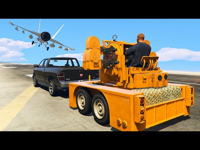 how to use anti aircraft trailer gta 5