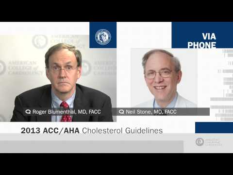 New Guideline on the Treatment of Blood Cholesterol