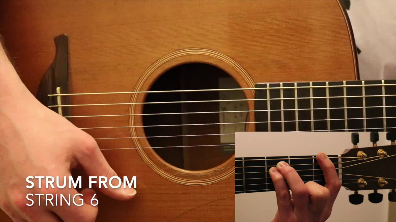 How To Play A Fm Chord On Guitar Youtube