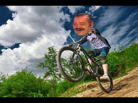 Risitas nous raconte ses figures à vélo ft.Mister freeride