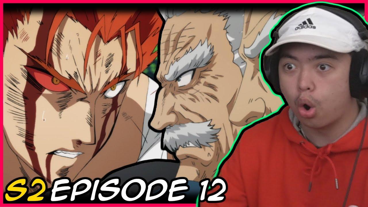 Garou Vs Bang The Long Awaited Fight One Punch Man Season 2 Finale Episode 12 Reaction Youtube
